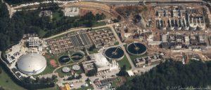 DeKalb County Water & Sewer Plant Aerial