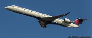 Delta Air Lines Bombardier CRJ-900ER at Takeoff