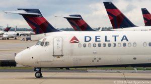 Delta Air Lines Jets at Atlanta International Airport