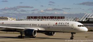 Delta Air Lines Jet at Hartsfield–Jackson Atlanta International Airport