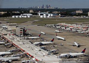 Delta Air Lines Jets at Hartsfield–Jackson Atlanta International Airport