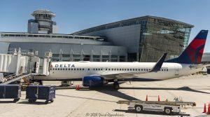 McCarran International Airport Delta Air Lines Jets in Las Vegas, Nevada