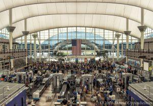 Denver International Airport TSA Checkpoint