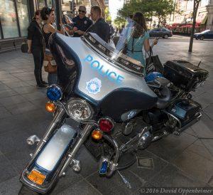 Denver Police Motorcycle