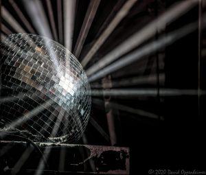 Disco Ball Light Beams