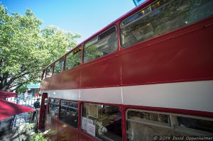 Asheville Double Decker Coffee Bus - Double D's Coffee & Desserts