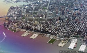 Downtown Brooklyn and Brooklyn Heights Aerial Photo in NYC