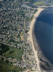 Fairfield Connecticut Beaches Aerial