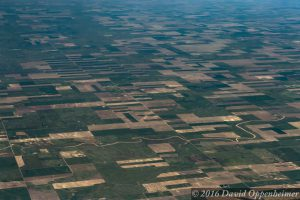 Farmland on Great Plains of the United States