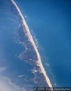 Ocean Beach on Town of Islip on Fire Island on Long Island, New York
