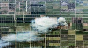 Florida Commerical Farms Aerial Photo