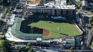 Fluor Field at the West End Stadium Aerial