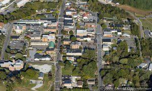Franklin North Carolina Aerial Photo
