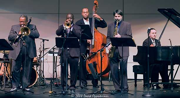 Fred Wesley with The Mark Sterbank Jazz Group at Charleston Southern University 2008