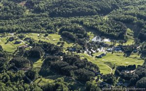 Furman University Golf Club Golf Couse Aerial