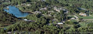 Furman University Campus Aerial