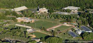 Furman University Campus Sports Complex Aerial