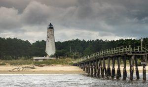 Georgetown Light on North Island