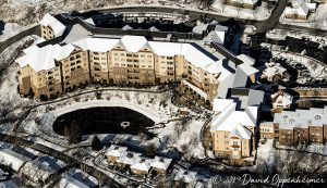 Givens Estates Retirement Community in Asheville Aerial