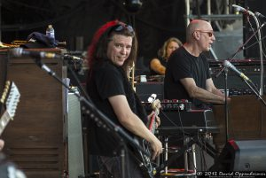 Jorgen Carlsson and Danny Louis with Gov't Mule at Bonnaroo