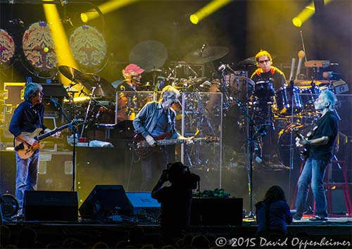 Grateful Dead 50th Anniversary Fare Thee Well Concerts at Soldier Field in Chicago – GD50