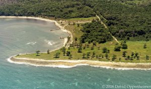 Green Island in Jamaica Aerial Photo