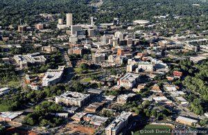 Greenville, South Carolina Aerial