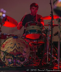Greg Schutte with Mickey Hart Band