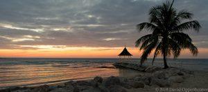 Half Moon Resort in Jamaica Sunset