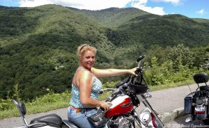 Motorcycling on the Blue Ridge Parkway