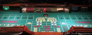 Craps Table at Harrah's Cherokee Casino Resort