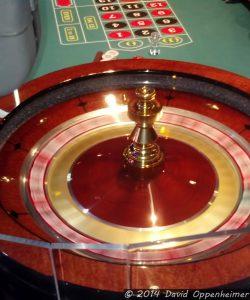 Roulette Wheel Spinning at Harrah's Cherokee Casino Resort