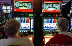 Game King Video Poker Machines at Harrah's Cherokee Casino Resort