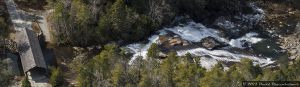 High Falls Waterfall in DuPont State Forest