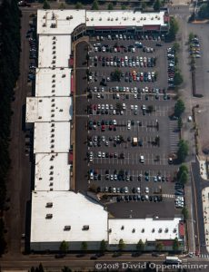 Hillside Plaza Shopping Center Aerial in Federal Way
