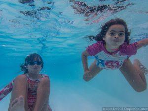 Swimming at Hotel Nikko in San Francisco, California
