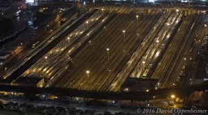 Hudson Yards in NYC Aerial