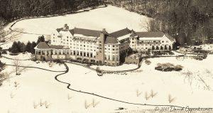 Inn on Biltmore Estate Aerial