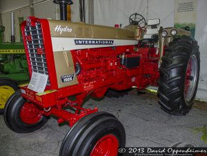 Farmall 1026 Tractor by International Harvester at NC Mountain State Fair
