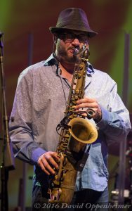 Jay Collins with Gregg Allman Band