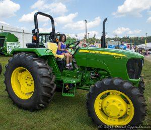 John Deere 5065E Utility Tractor at NC Mountain State Fair