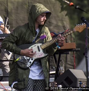 John Gourley with Portugal The Man