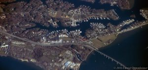 Johnstown and Solomons, Maryland Aerial Photo