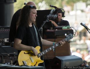 Jorgen Carlsson and with Gov't Mule at Bonnaroo