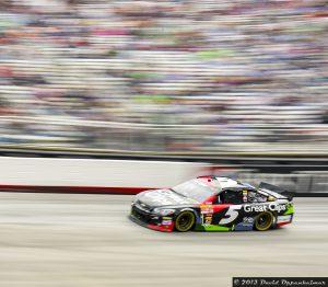 Kasey Kahne at NASCAR at Bristol Motor Speedway