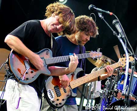 Keller Williams with Moseley, Droll & Sipe at All Good Festival 2008
