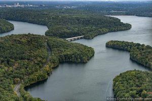 Kensico Reservoir Aerial Photo