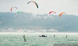 Kiteboarding in the San Francisco Bay