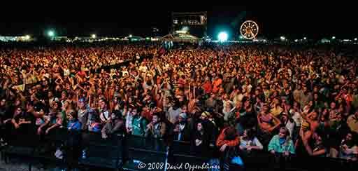 Langerado Music Festival Crowd Photos 2008