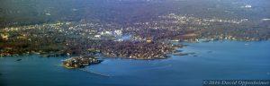 Larchmont, New York Aerial Photo